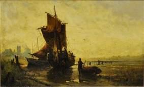 Bunn, George [Continental/American] Oil on canvas