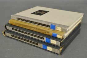 Books – 4 Volumes Hammerslough, Philip, American