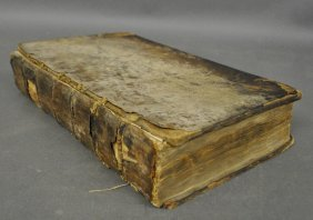 Book – Leather-bound Select Works Of William Penn…,