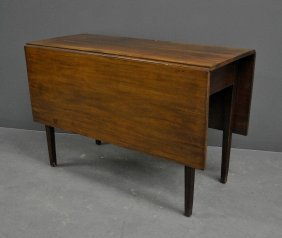 Philadelphia Chippendale Mahogany Drop-leaf Table,