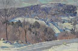 Atwood Robert American 18921970 oil on canvas