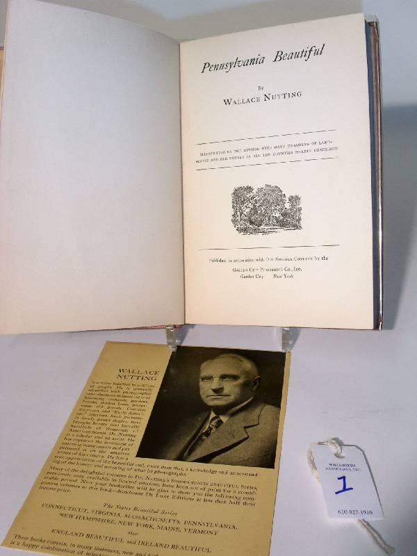 1: Book-Pennsylvania Beautiful, Wallace Nutting, 1935