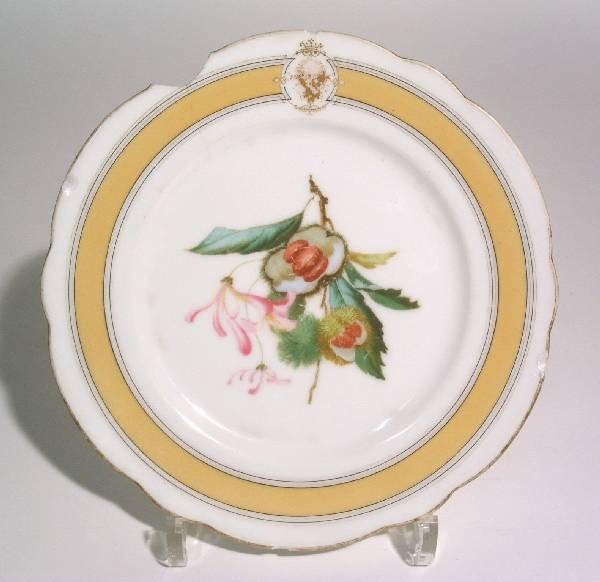 505: Presidential china dessert plate from the White Ho