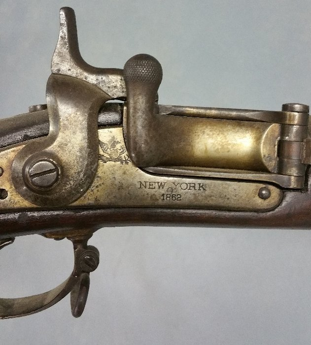 Needham conversion of model 1861 Springfield musket, - 2
