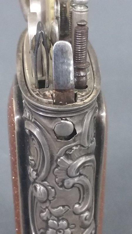Rare silver etui, 18th century (Necessaire) with - 5