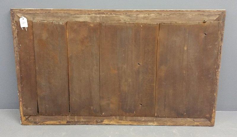 Large gilt framed over mantle mirror, circa 1850. 35 - 2