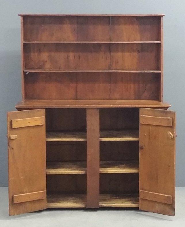 Pennsylvania pine open cupboard, Harriet Ermentrout - 2