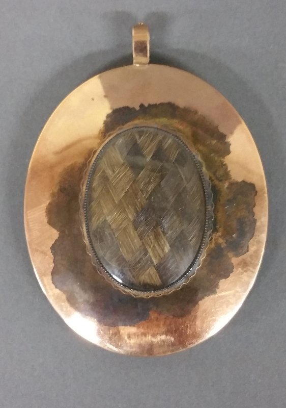 American oval miniature portrait of a gentleman, most - 2