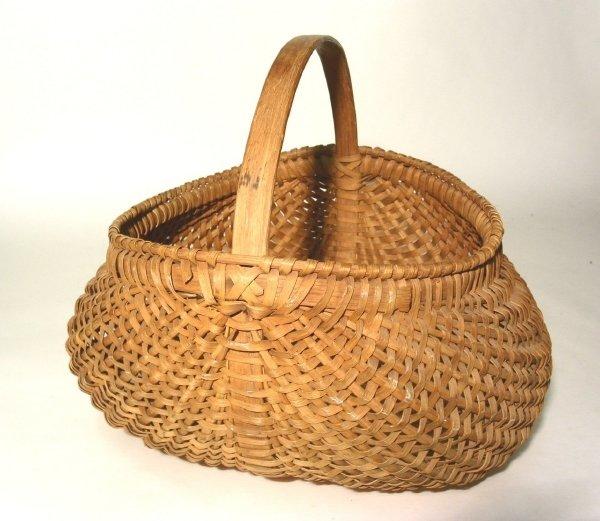 "45: Buttocks basket. 15""l.x15""w.x13.5""h."