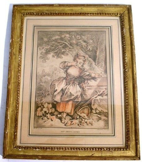 33: Pair of French prints, (after) Boucher.