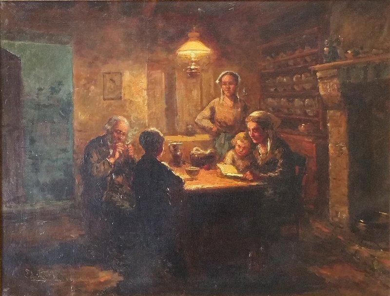 Cortes, Edouard Leon [France 1882 - 1969], Oil on