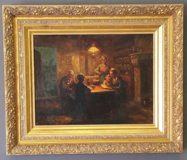 Cortes, Edouard Leon [France 1882 - 1969], Oil on - 2
