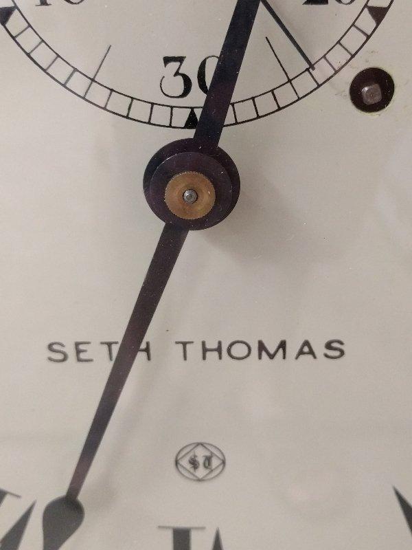 Seth Thomas oak cased No. 2 regulator wall clock.  35 - 3