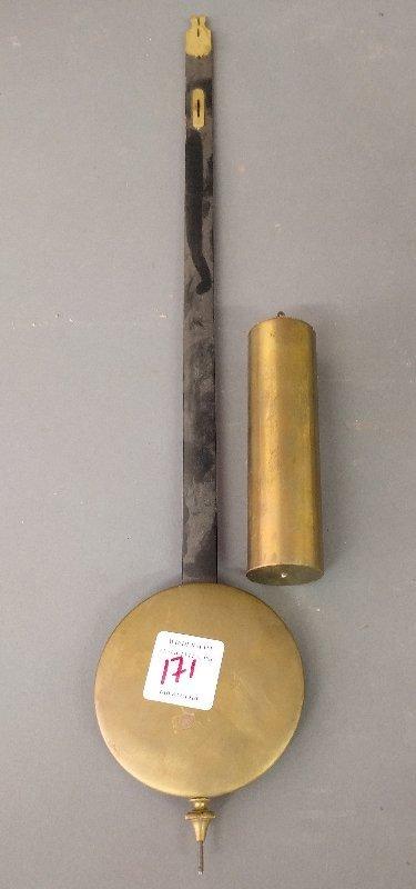 Seth Thomas #2 railroad mahogany cased wall clock, with - 2