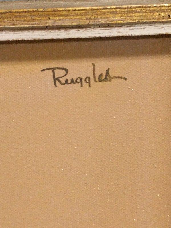 Ruggles, Elizabeth H. [American, 1915-2013] oil on - 2
