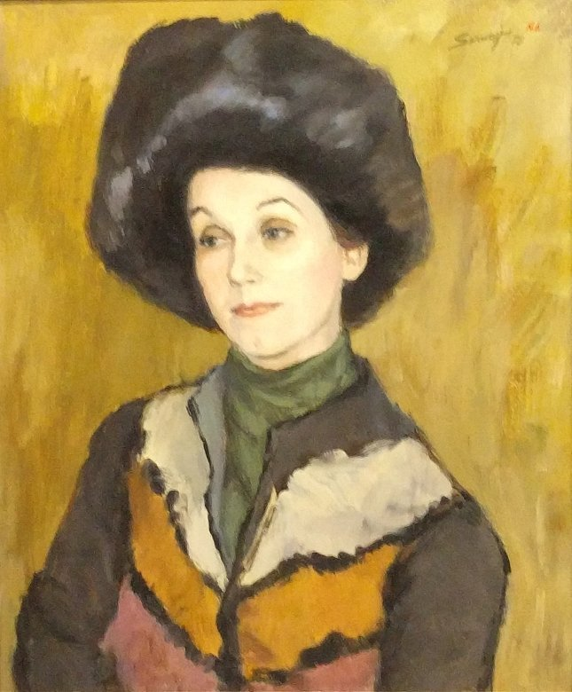 Serwazi, Albert [American, 1905-1992] oil on canvas