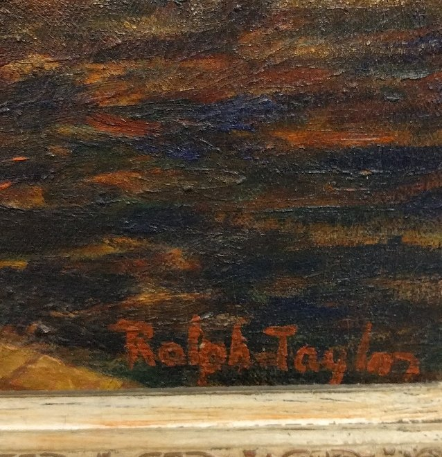 Taylor, Ralph [American, 1896-1978] oil on canvas - 3