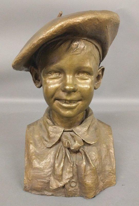 Johan Gudmundsen-Holmgreen [Danish, 1858-1912] bronze