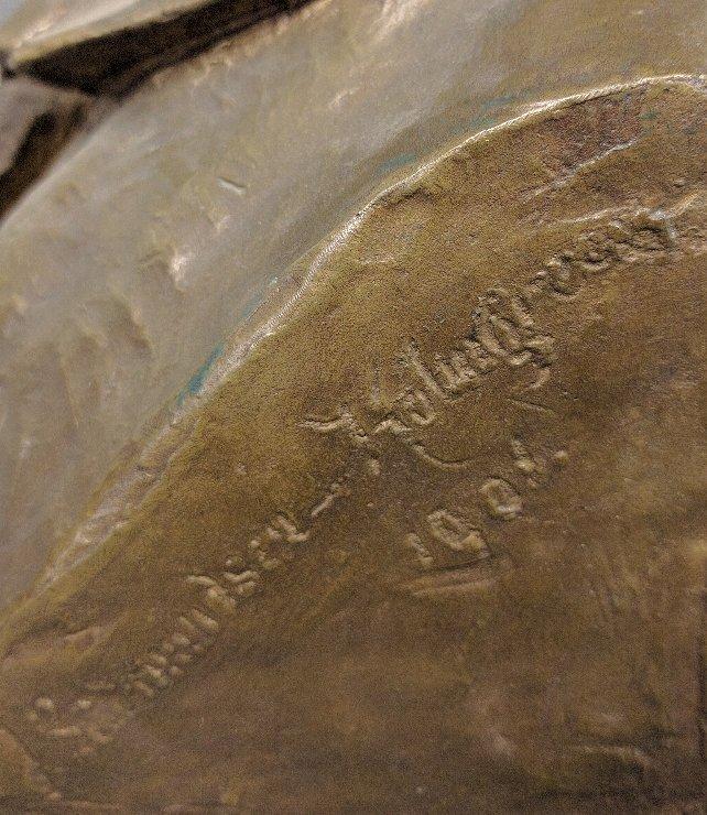 Johan Gudmundsen-Holmgreen [Danish, 1858-1912] bronze - 3