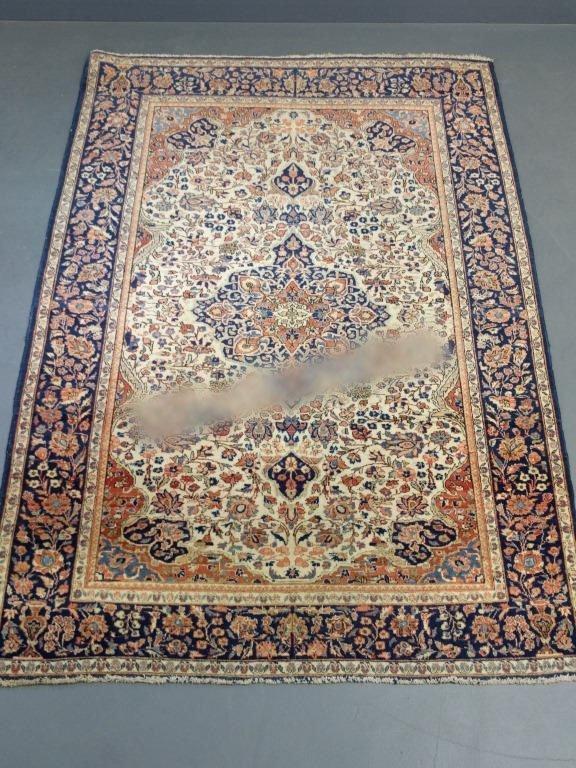 Kerman Center Hall carpet