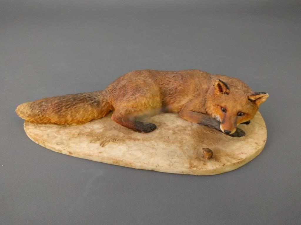 Faux porcelain Fox