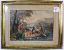 192 Currier  Ives lithograph The Life of a Sportsman