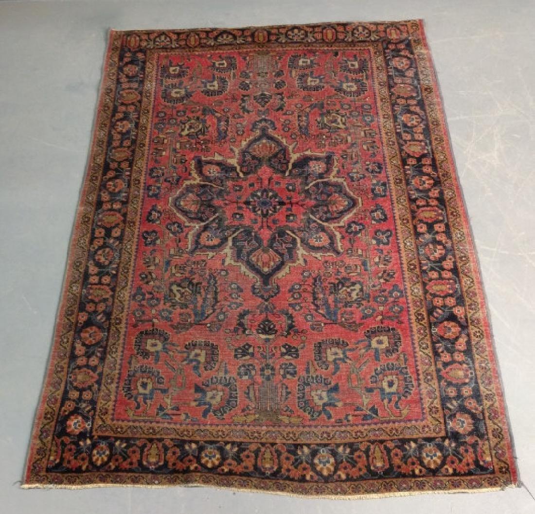 Sarouk Center carpet