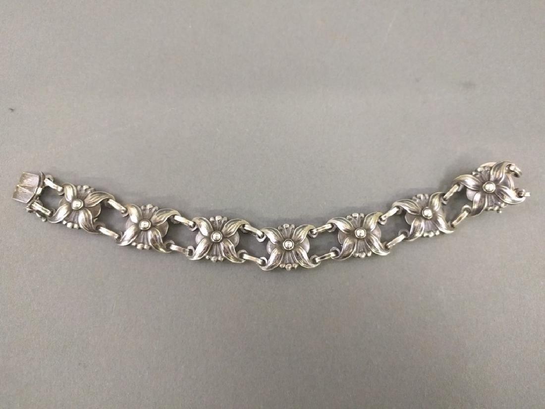 Sterling silver ladies bracelet