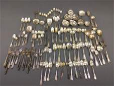 Miscellaneous grouping of sterling silver