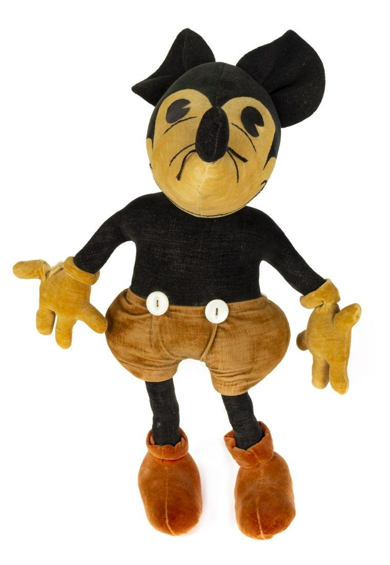 Charlotte Clark Mickey Mouse Doll.