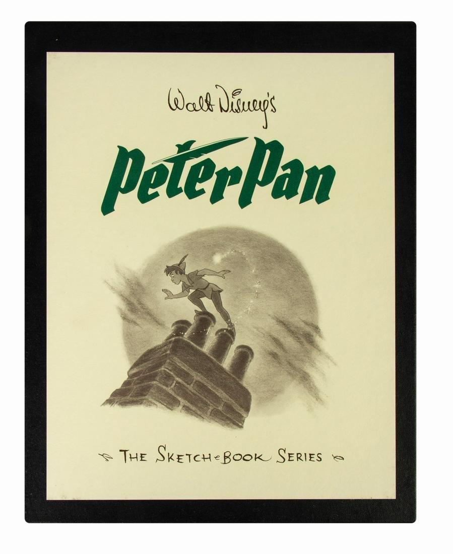 "Multi-Signed ""Peter Pan: the Sketch Book Series""."