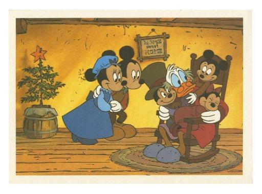 Mickeys Christmas Carol.Mickey S Christmas Carol Signed Postcard