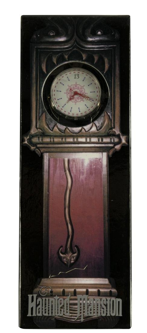 Haunted Mansion Limited Ed. Grandfather Clock Watch.