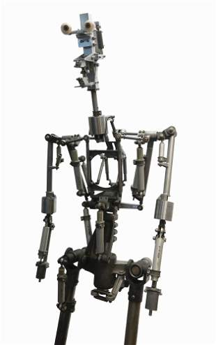 Audio-Animatronic A-1 Mechanical Frame.