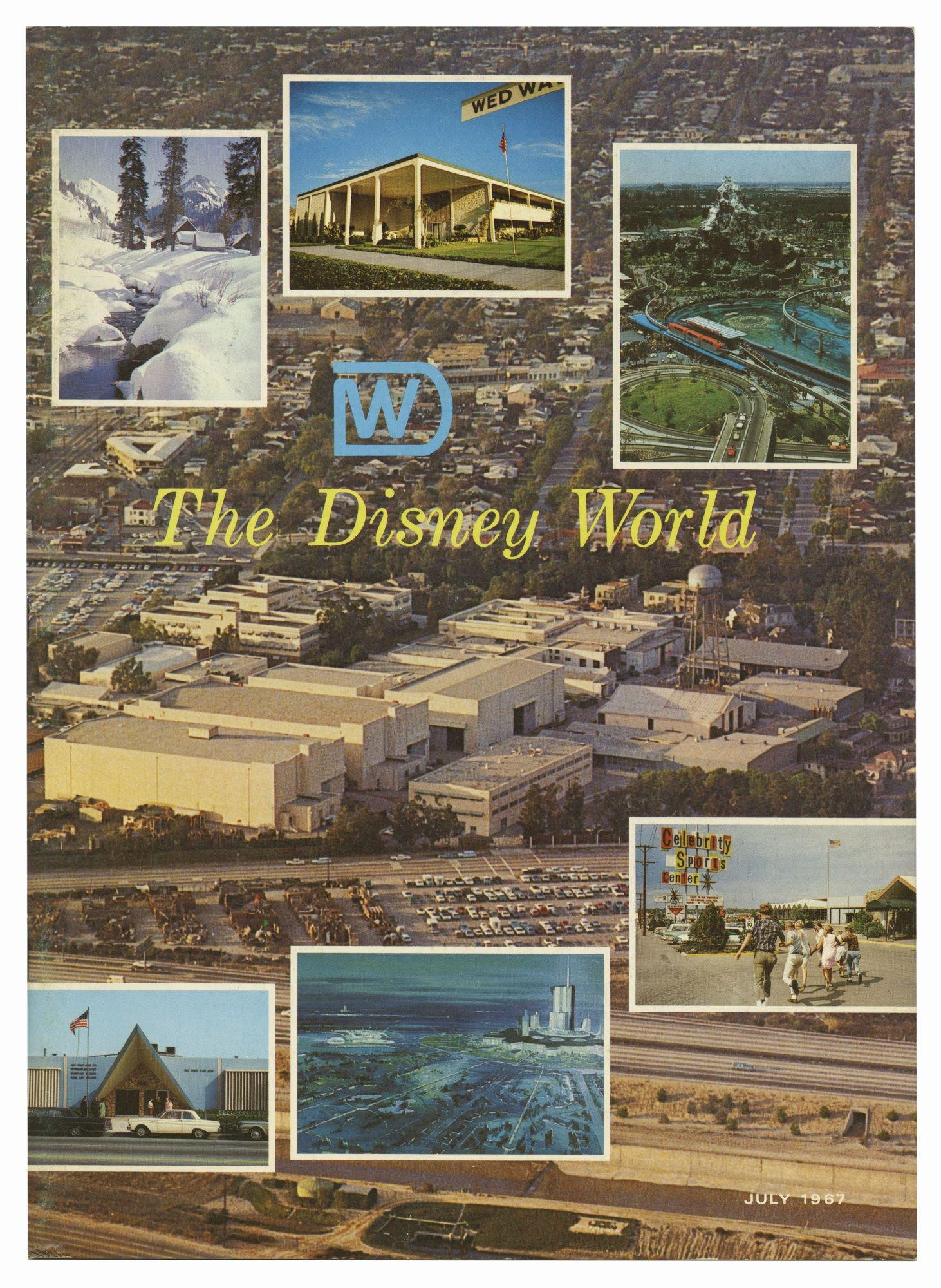 """The Disney World"" Magazine."
