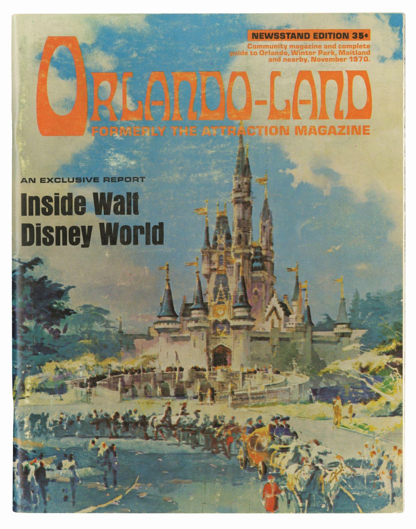 """""""Orlando-Land"""" Magazine."""
