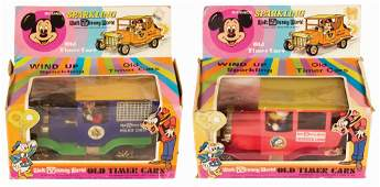 Pair of Walt Disney World Old Timer Cars