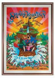 Splash Mountain Attraction Poster.