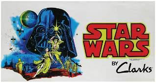 Star Wars Store Display Banner.