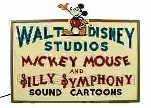 Walt Disney Hyperion Studios Sign Replica.