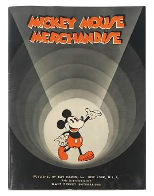 Original 1934 Kay Kamen Merchandise Catalog.