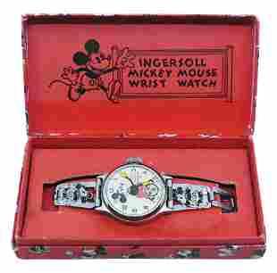 Ingersoll Mickey Mouse Wristwatch.