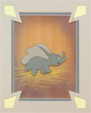 Original Dumbo Production Cel.