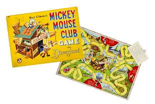 Mickey Mouse Club Game in Disneyland.