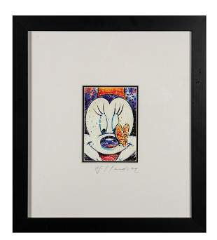 Original David Willardson Minnie Mouse Painting