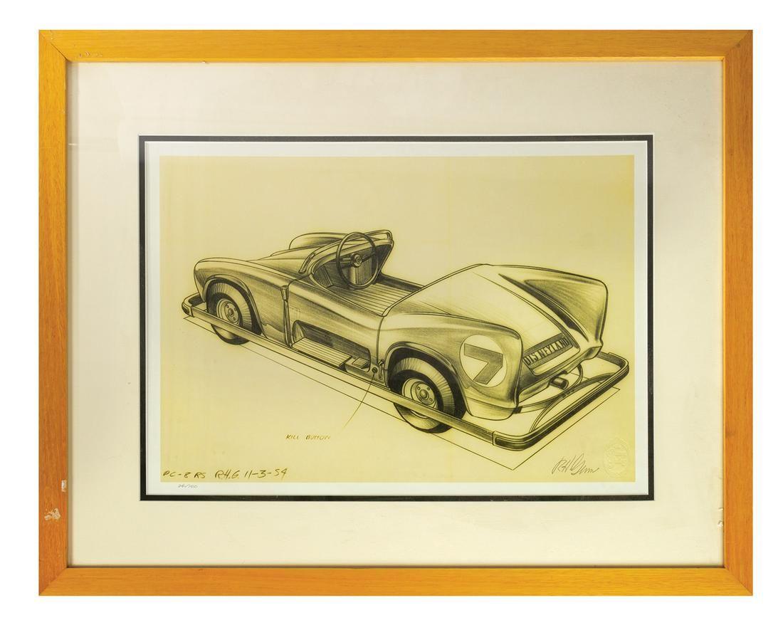 Bob Gurr Autopia Concept Print.