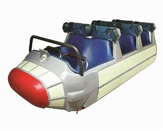 Original Space Mountain Attraction Vehicle.
