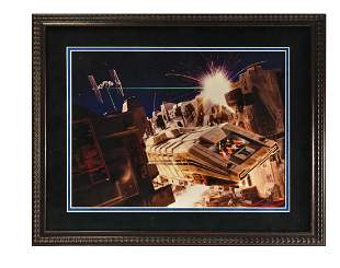 Star Tours Ticket Booth Promotional Poster