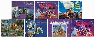Collection of 7 Pictorial Souvenir Guidebooks