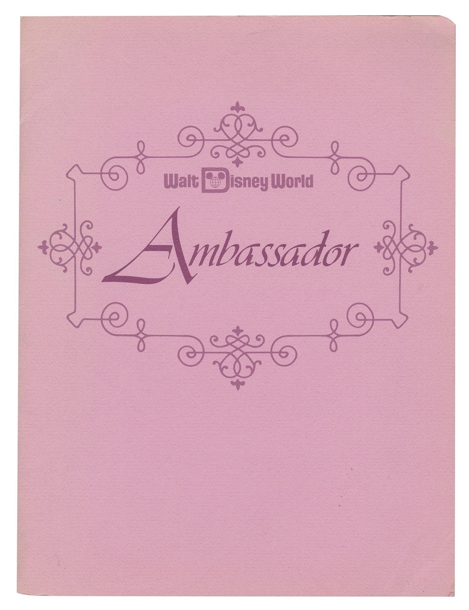 Walt Disney World Press Packet.